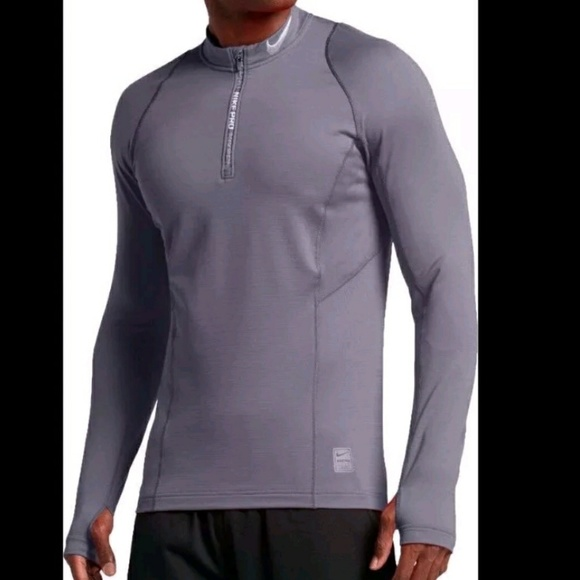 e3b6d712 Nike Jackets & Coats | Mens Pro Hyperwarm Fitted 14 Zip Pullover ...